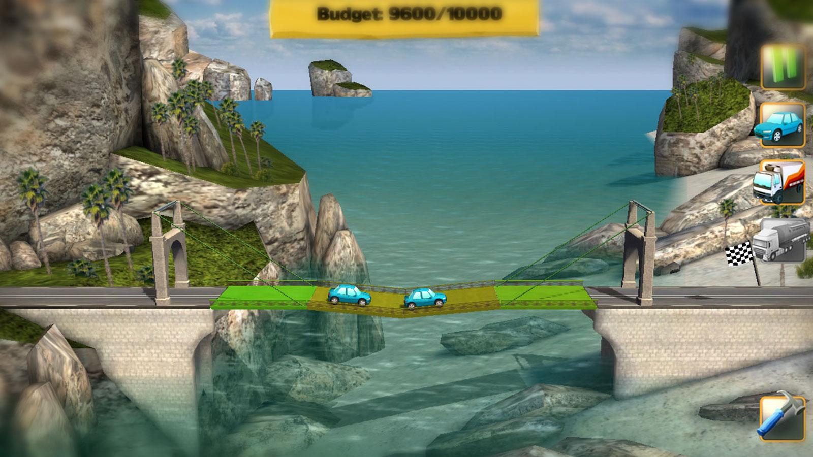 Bridge Constructor скриншот из игры
