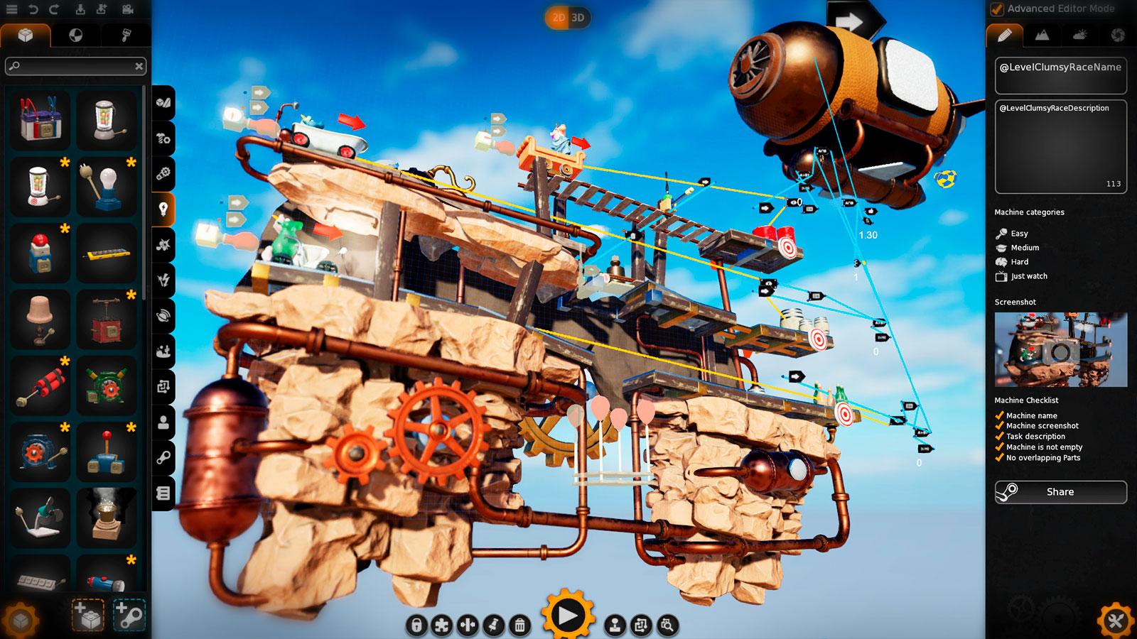 Crazy Machines 3 скриншоты из игры