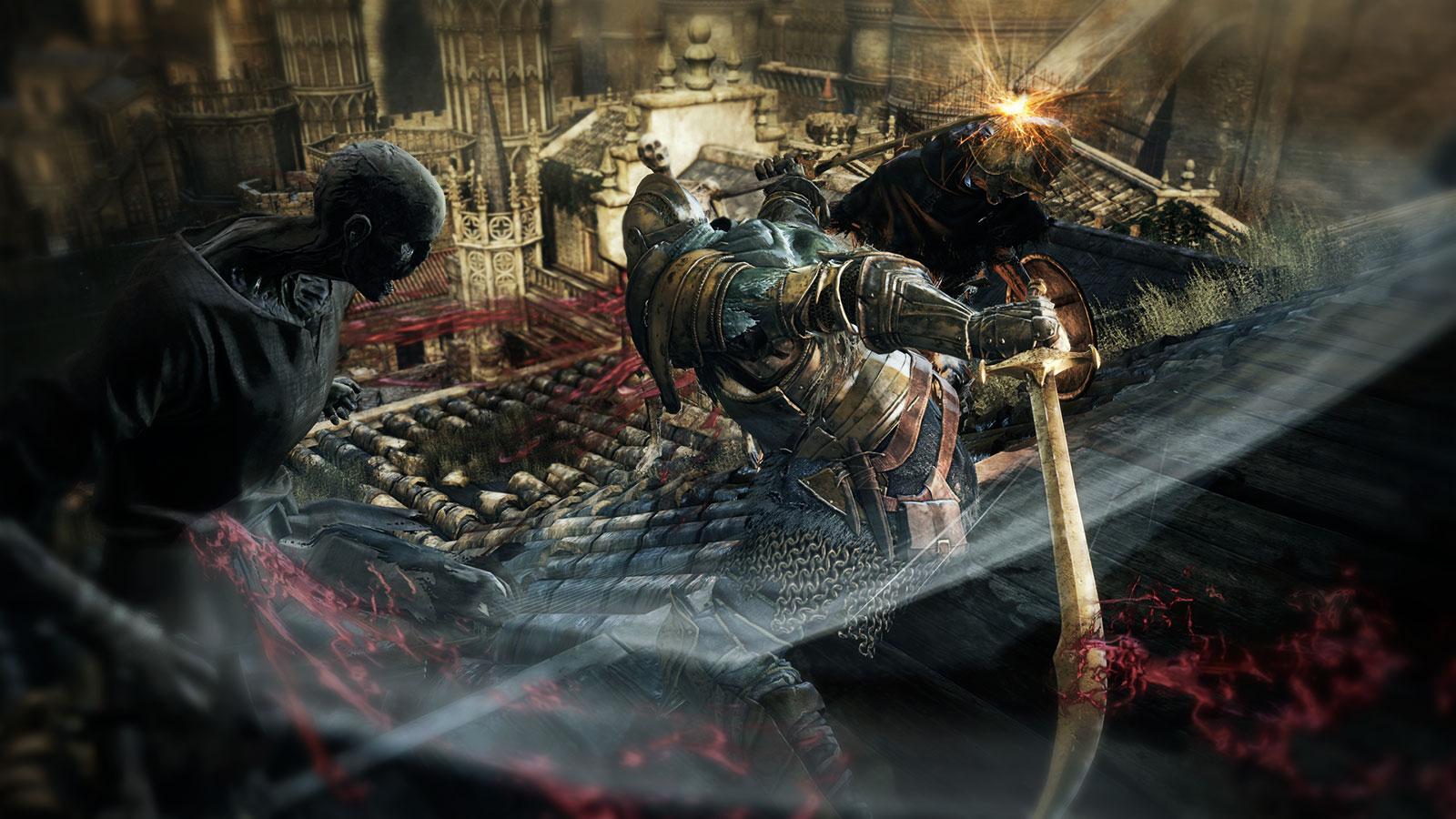 Dark Souls III слэшер для Xbox