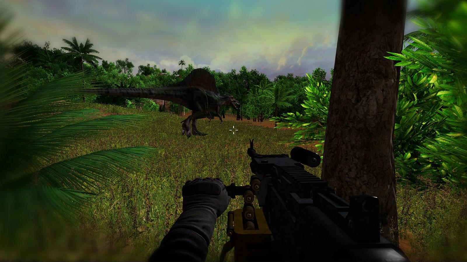 Уничтожьте хищных динозавров