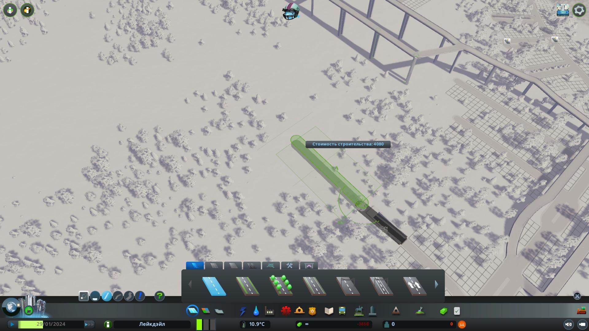 Постройте основную длину тоннеля cities skyline