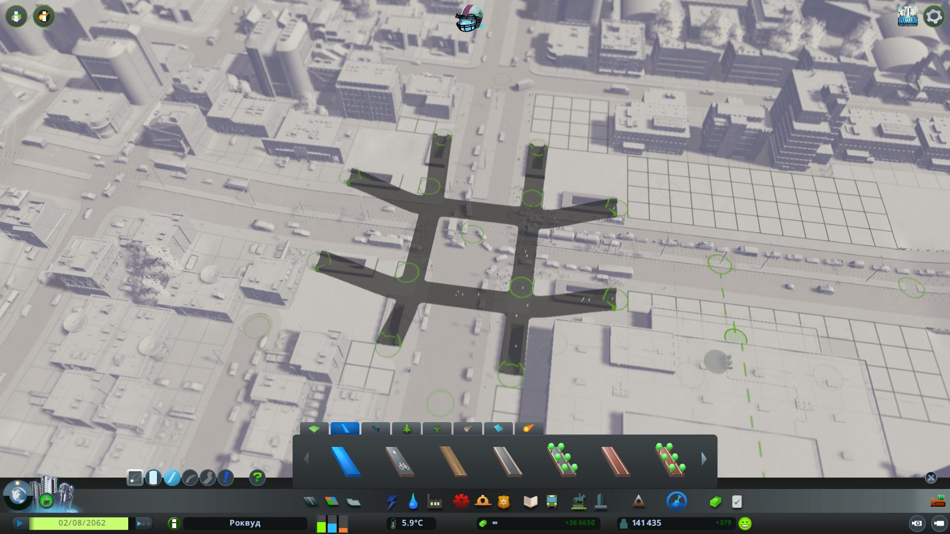 систему подземных пешеходных переходов cities skyline