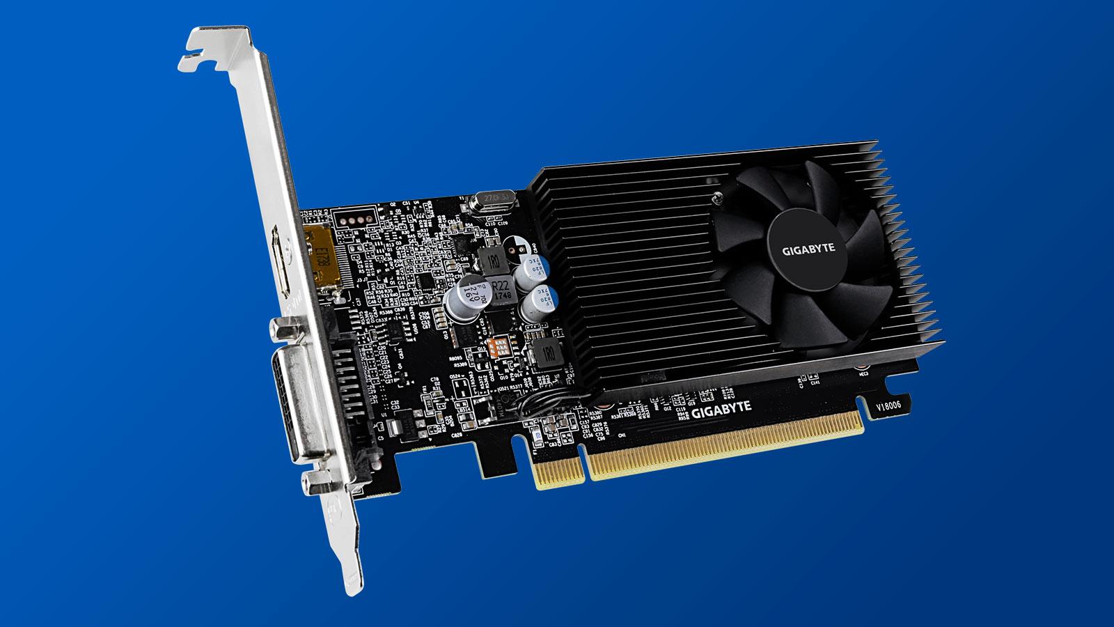 Gigabyte GeForce GTX 1030 Low Profile D4 2G