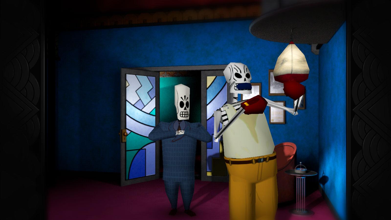 Мексиканский детектив Grim Fandango Remastered