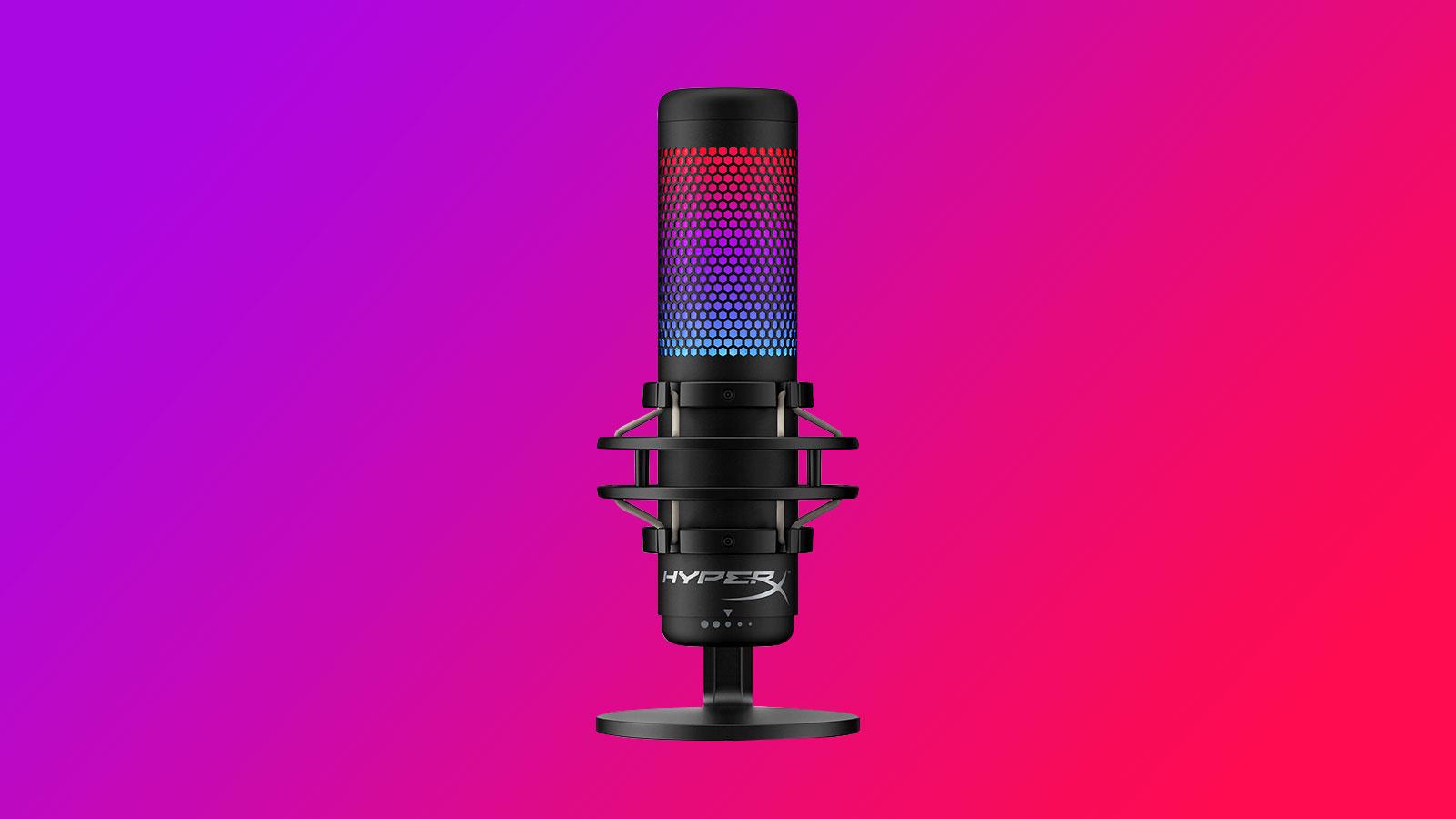HyperX QuadCast микрофон