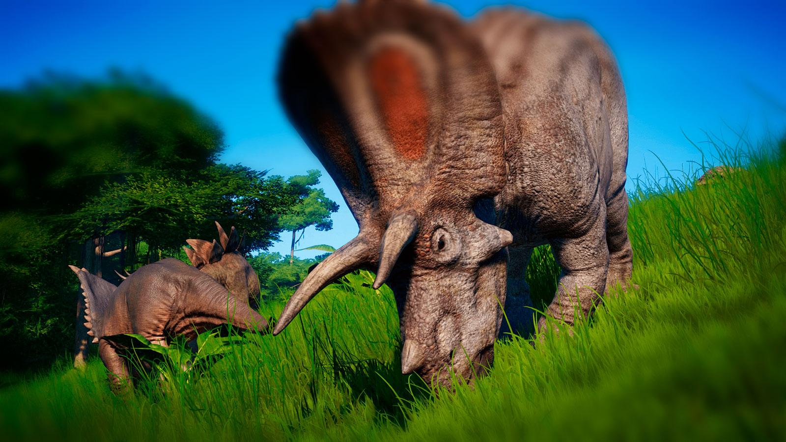 Зоопарк динозавры