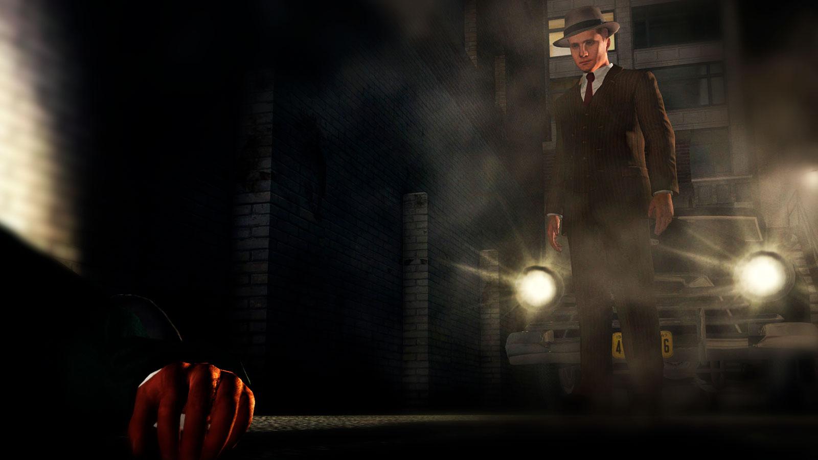 L.A. Noire детектив в стиле нуар