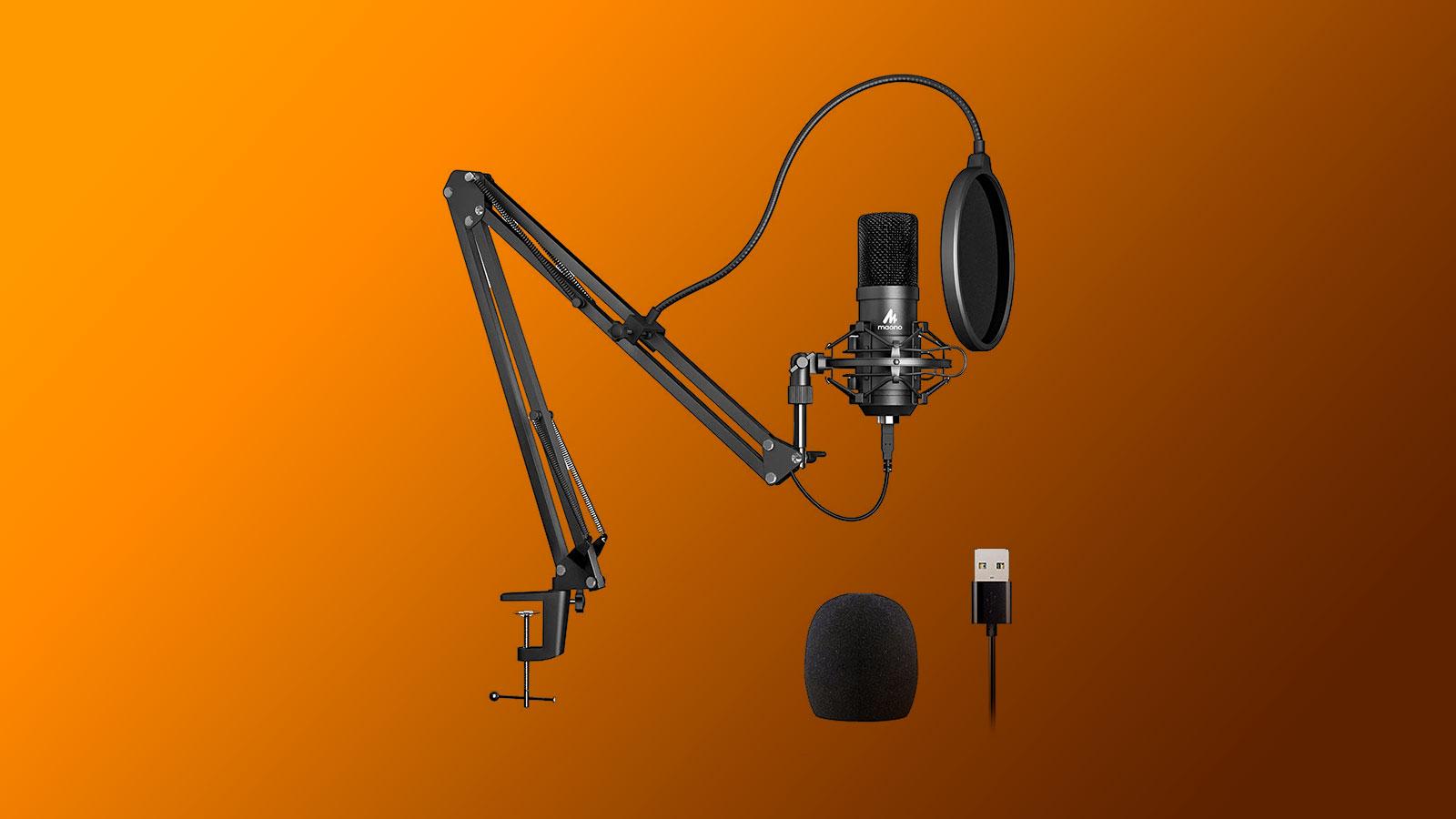 Maono AU A04 микрофон