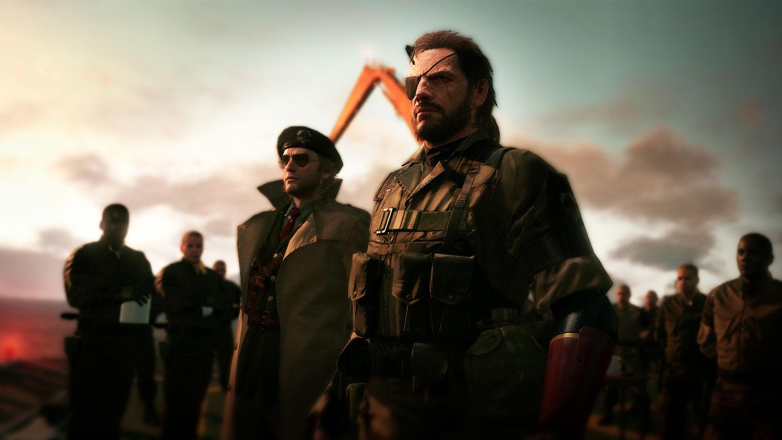 Культовая серия игр Metal Gear Solid V