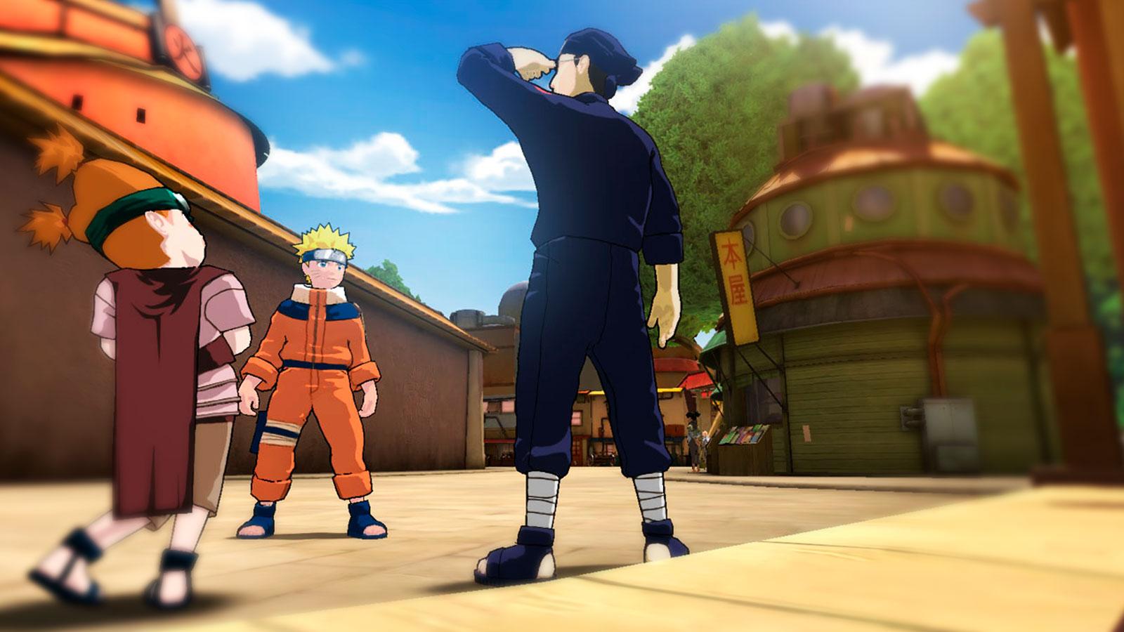 Naruto и его становление