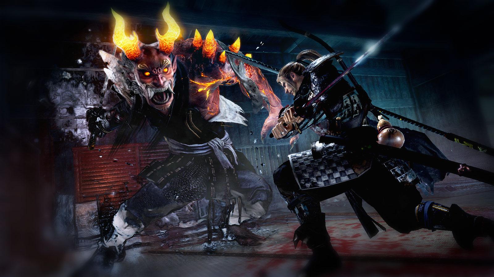 Nioh японские демоны и самураны