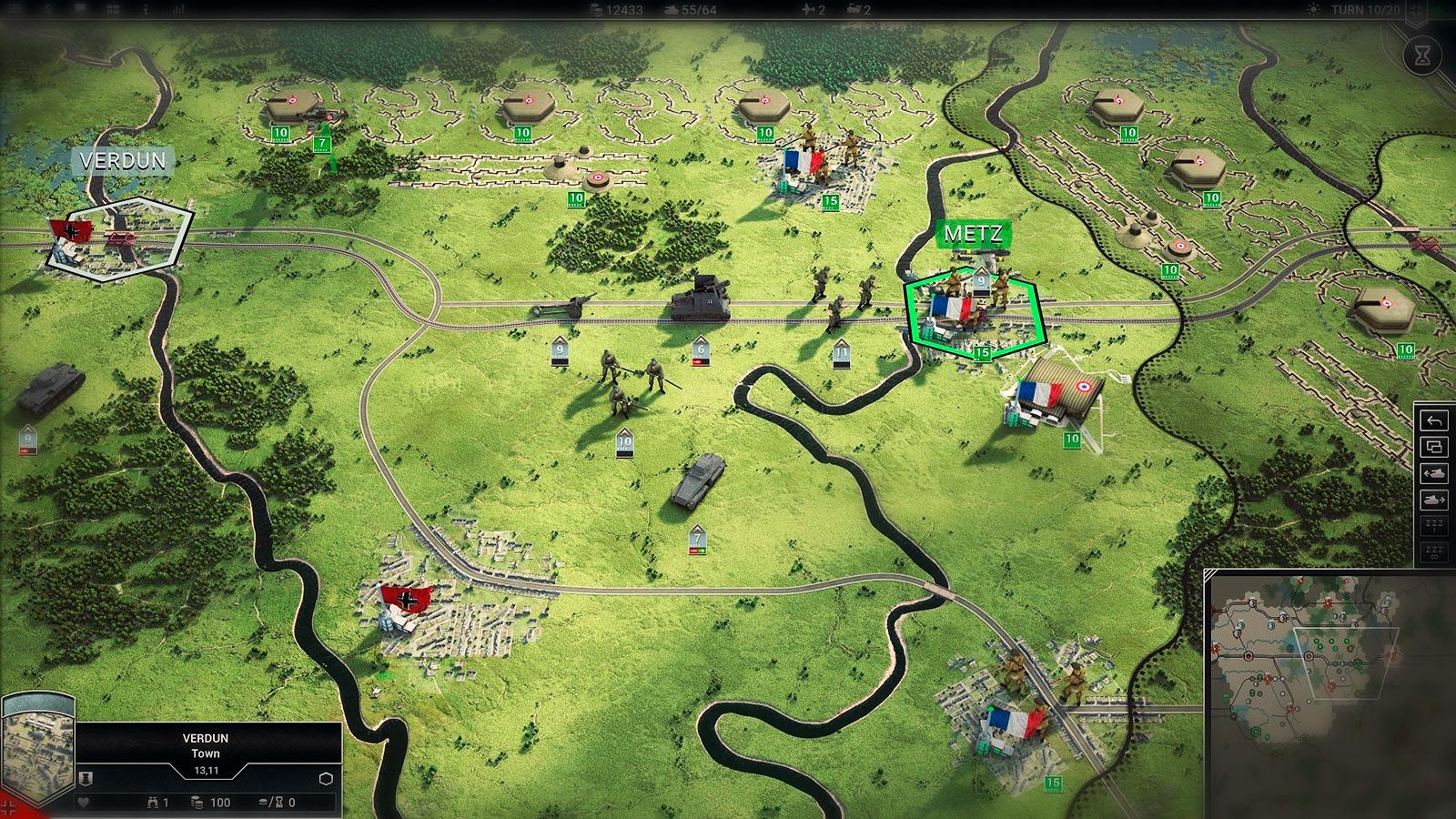 Panzer Corps скриншот