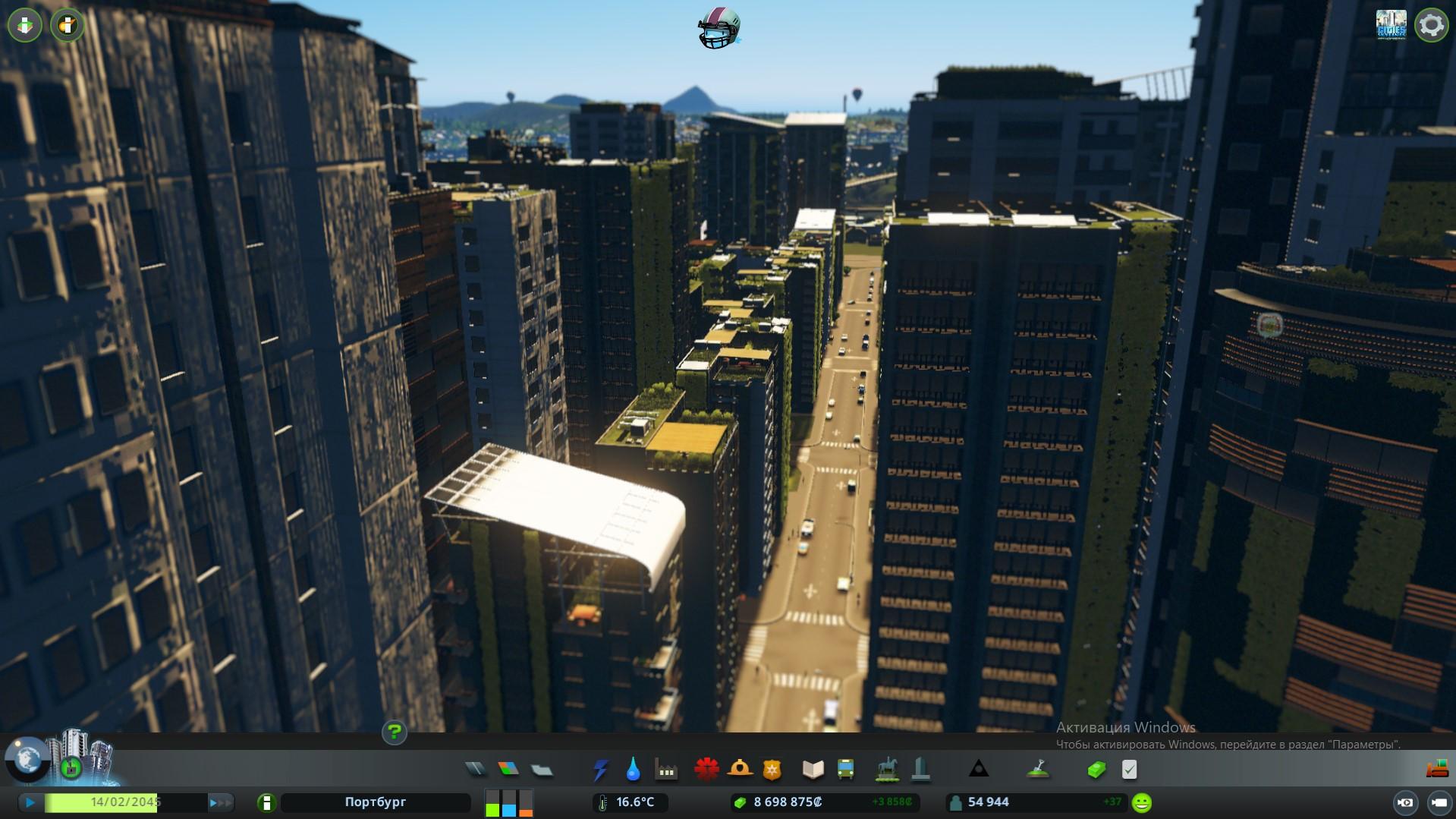 густонаселенных район cities skyline