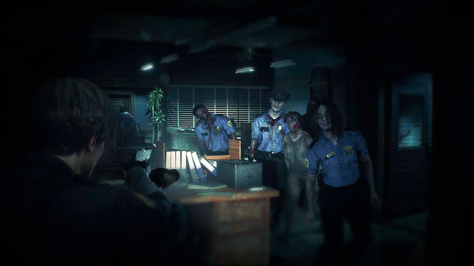 Resident Evil 2 для Xbox
