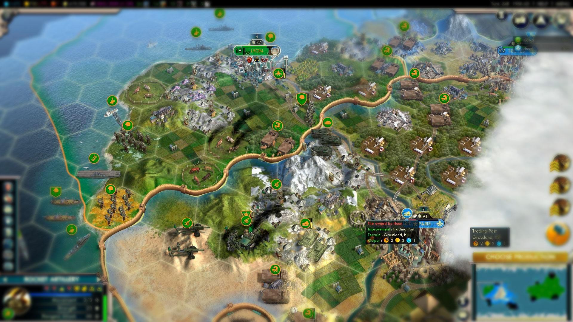 Sid Meier's Civilization V экономическая стратегия