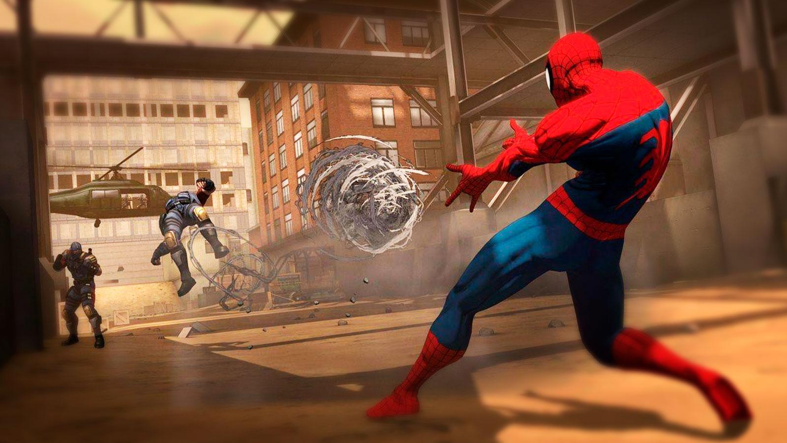 Человек паук против врагов