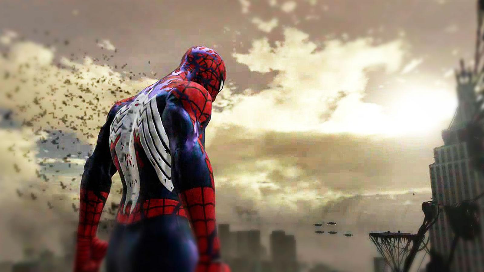 Темная сторона человека паука