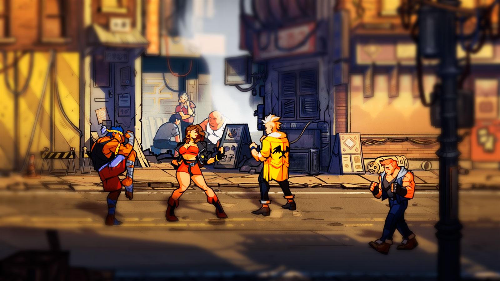 Streets of Rage культовый Beat'em Up для Xbox