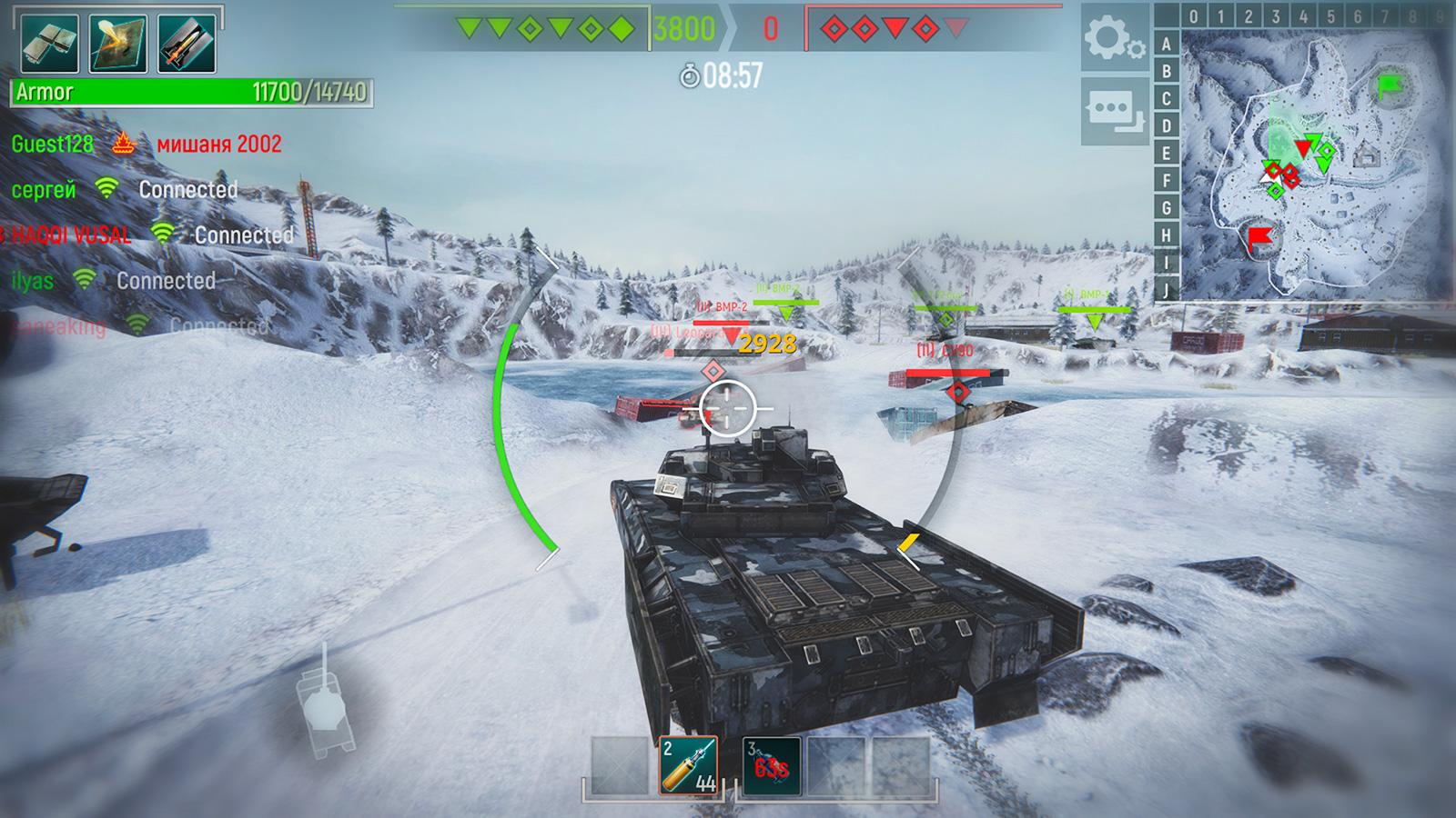 Tank Force скриншот