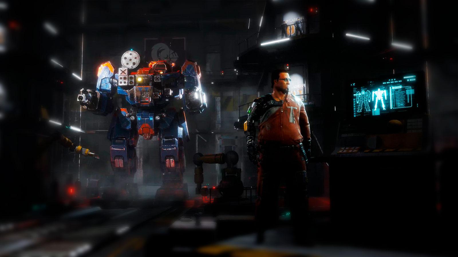 BattleTech война мех и роботов
