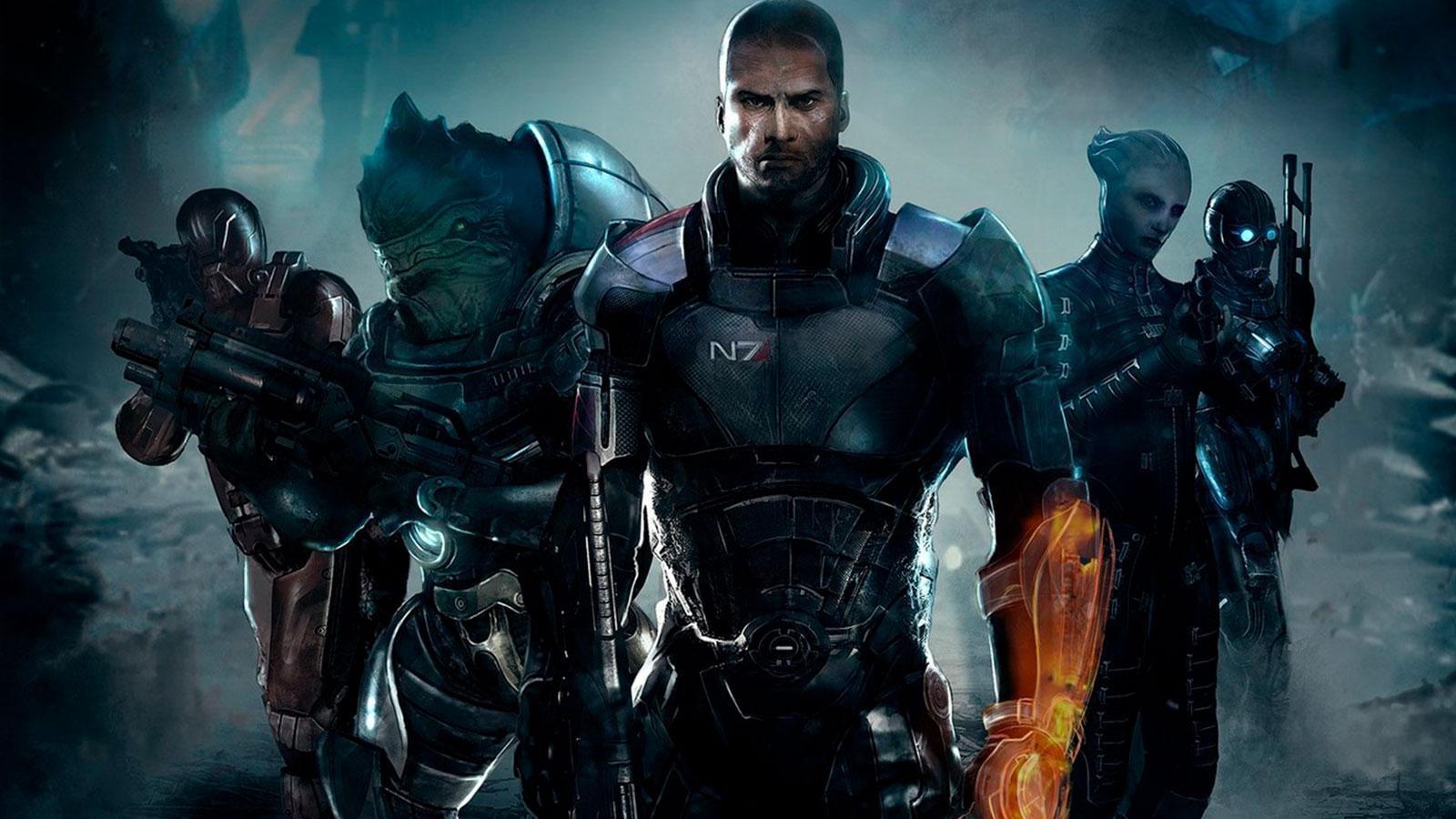 Шеппард из Mass Effect