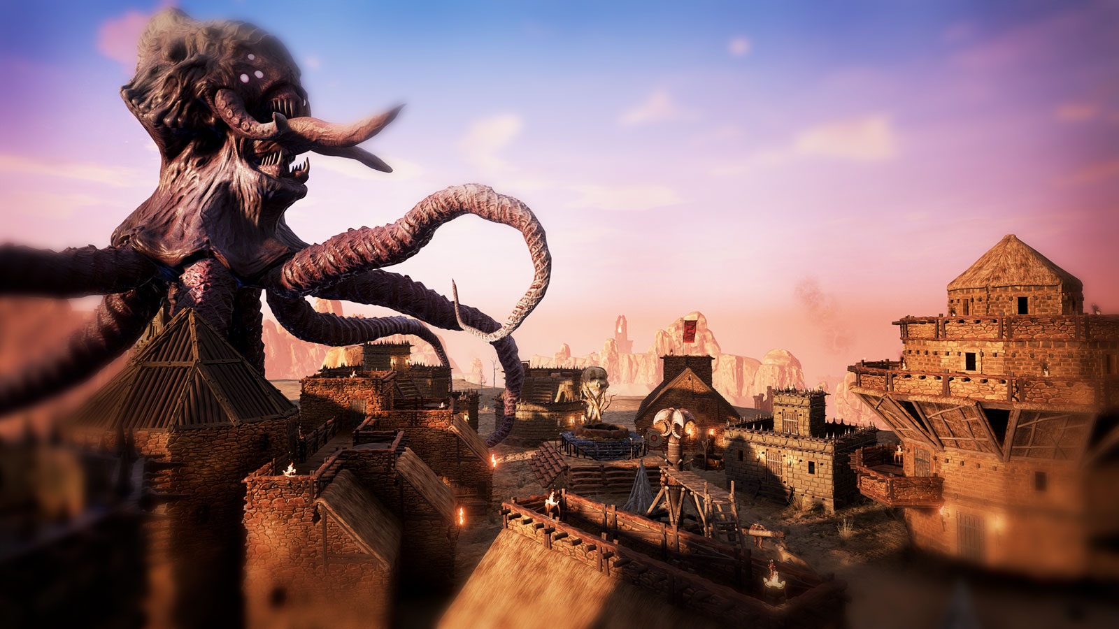 Conan Exiles строительство и песочница