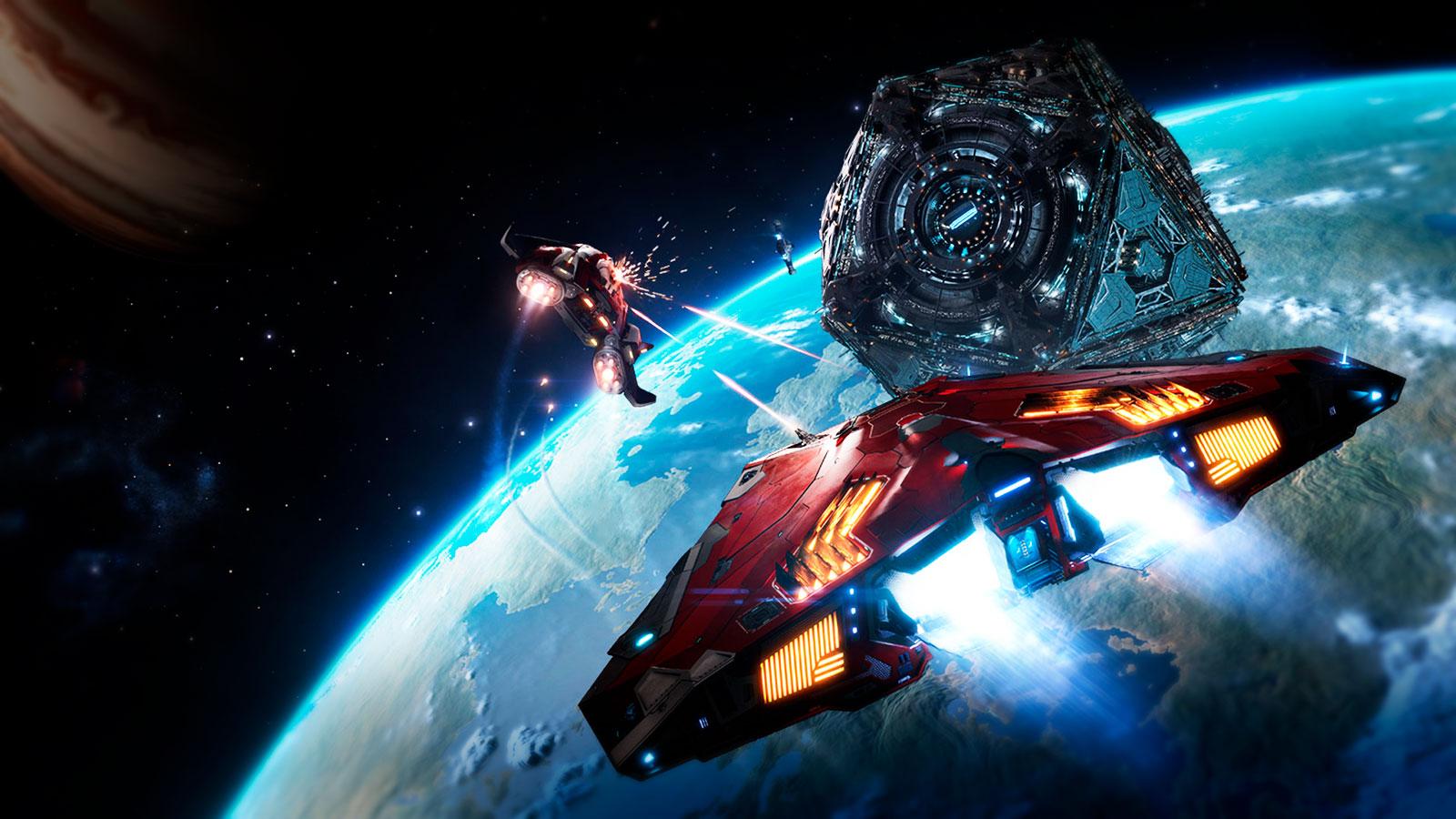 Космическое будущее в Elite Dangerous