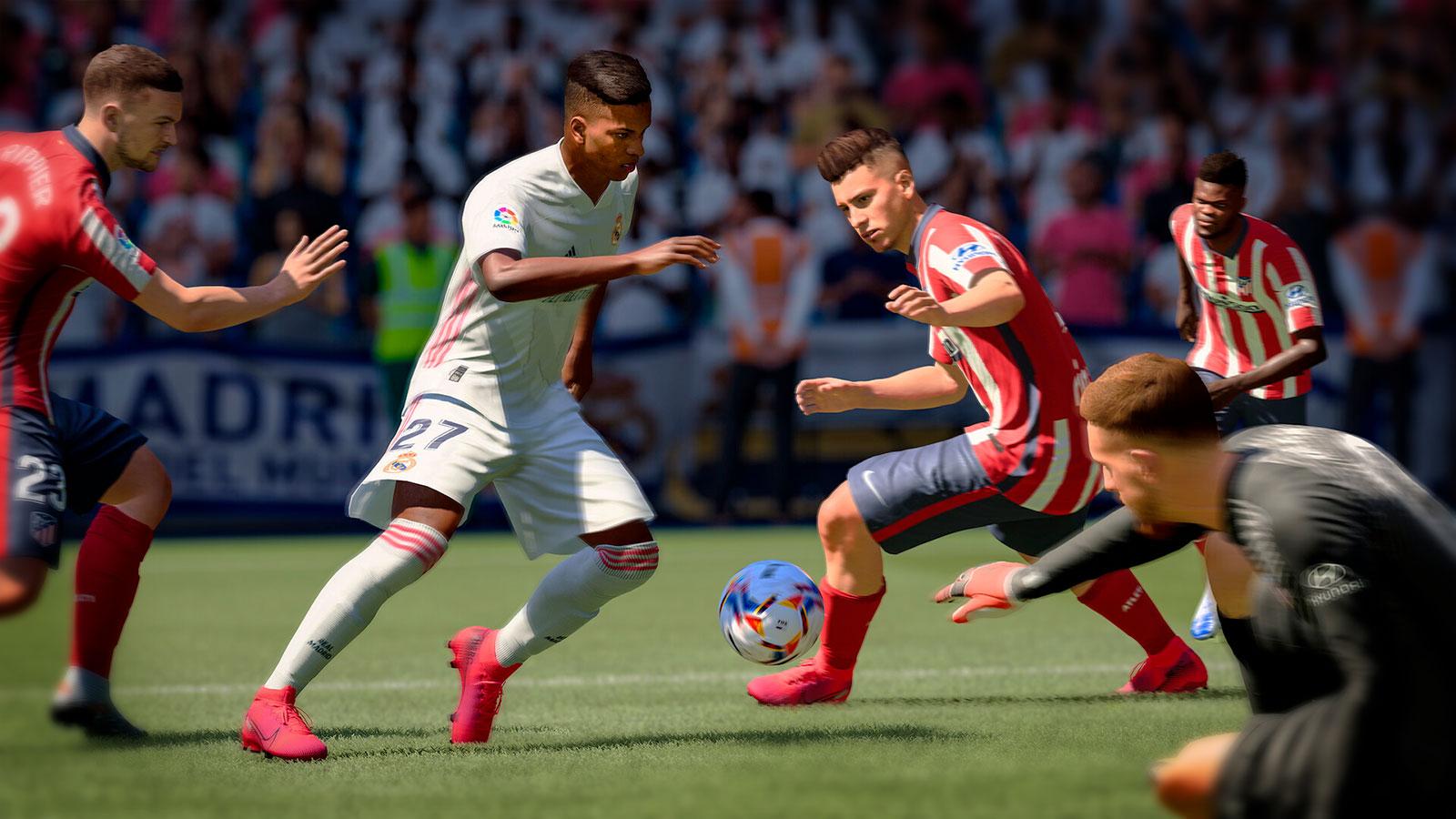 FIFA 21 топ спортивных игр на пк