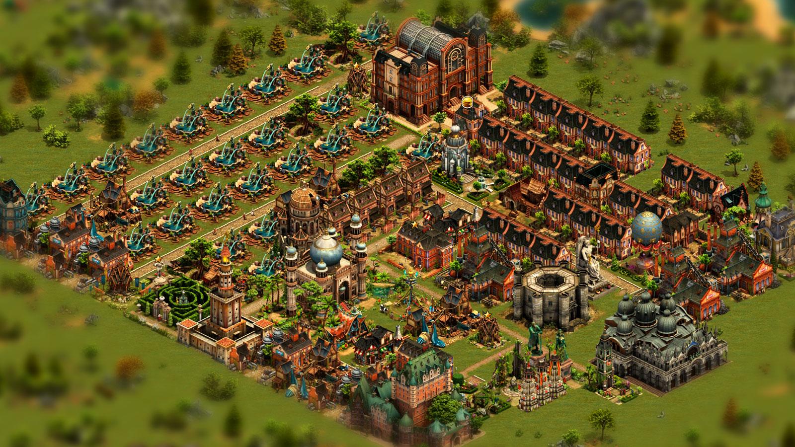 Строительство империи в Forge of Empires