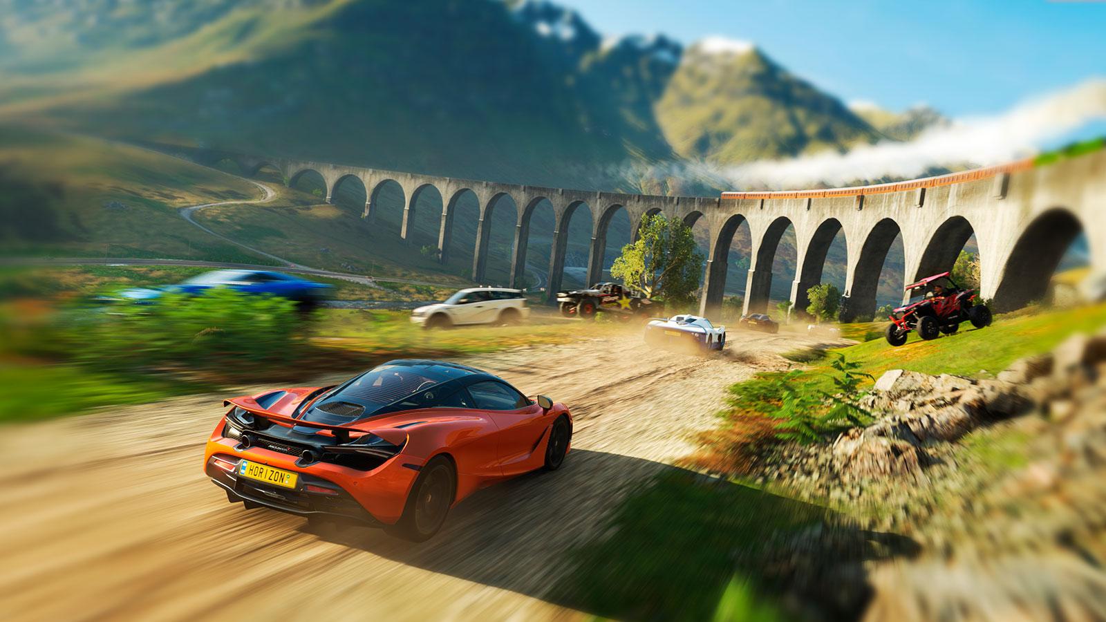 Forza Horizon 4 топ спорт игры