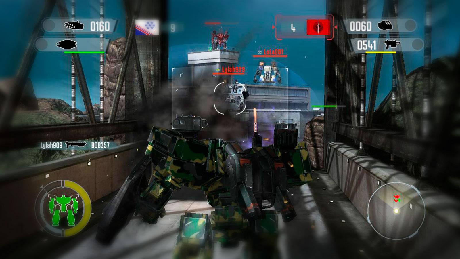 Front Mission Evolved война роботов
