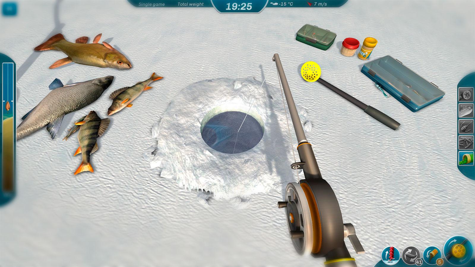 Ice Lakes зимняя рыбалка