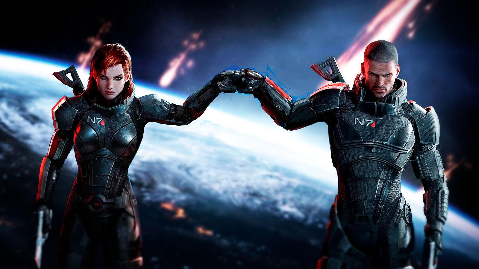 Mass Effect футуризм в играх