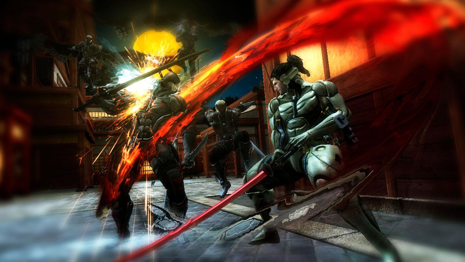 Ниндзя в Metal Gear Rising Revengeance