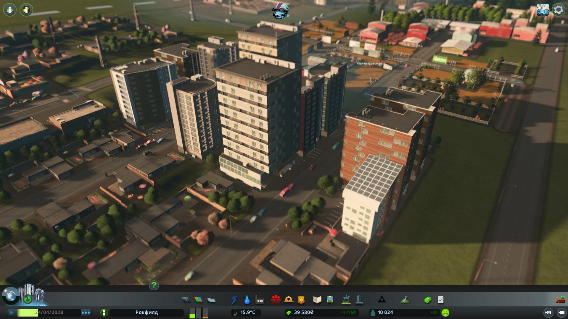 Жилые зоны cities skylines