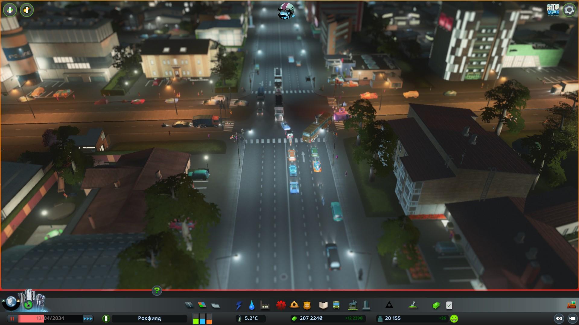 Шестиполосные дороги cities skyline