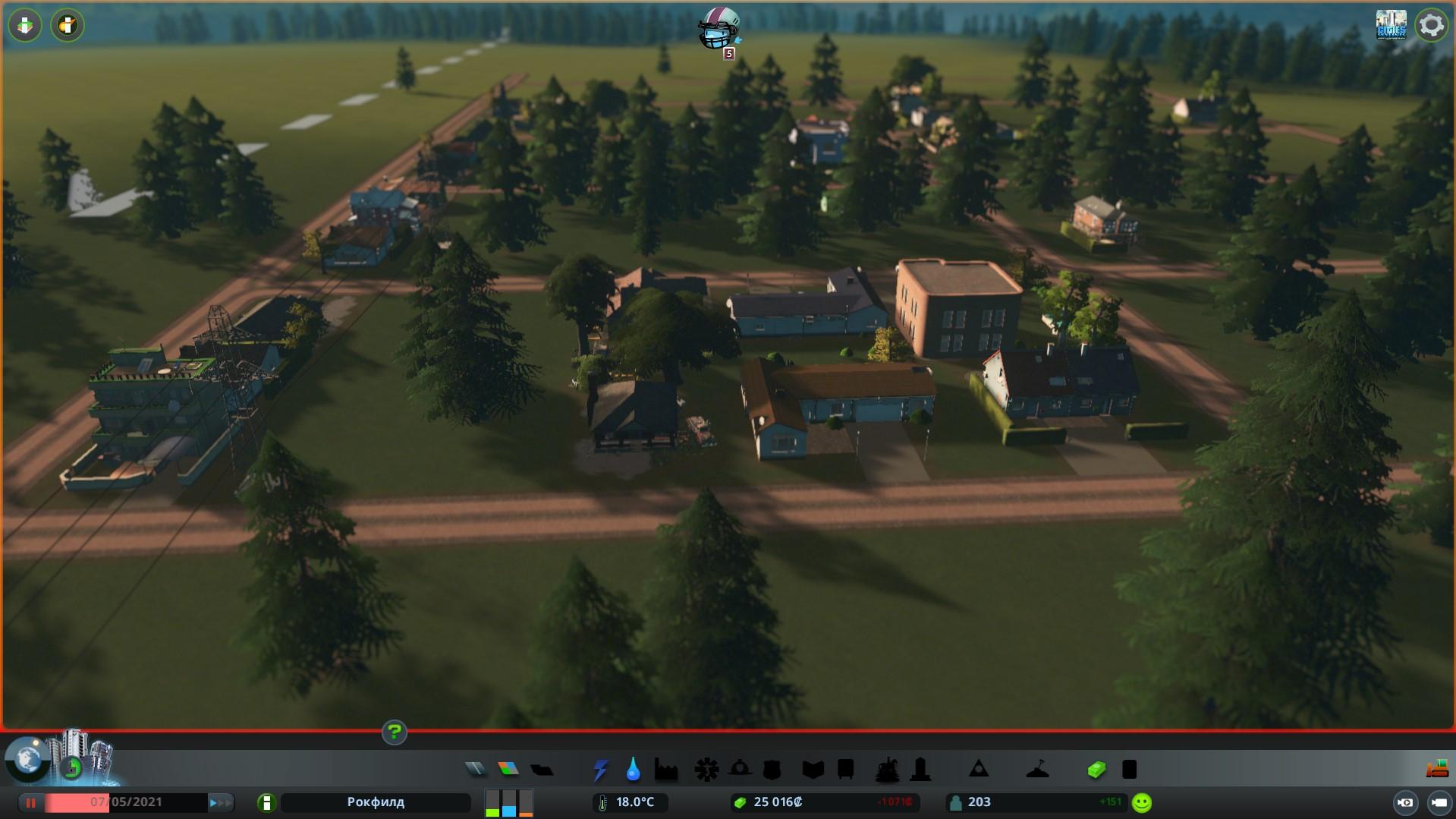 начало игры cities skylines