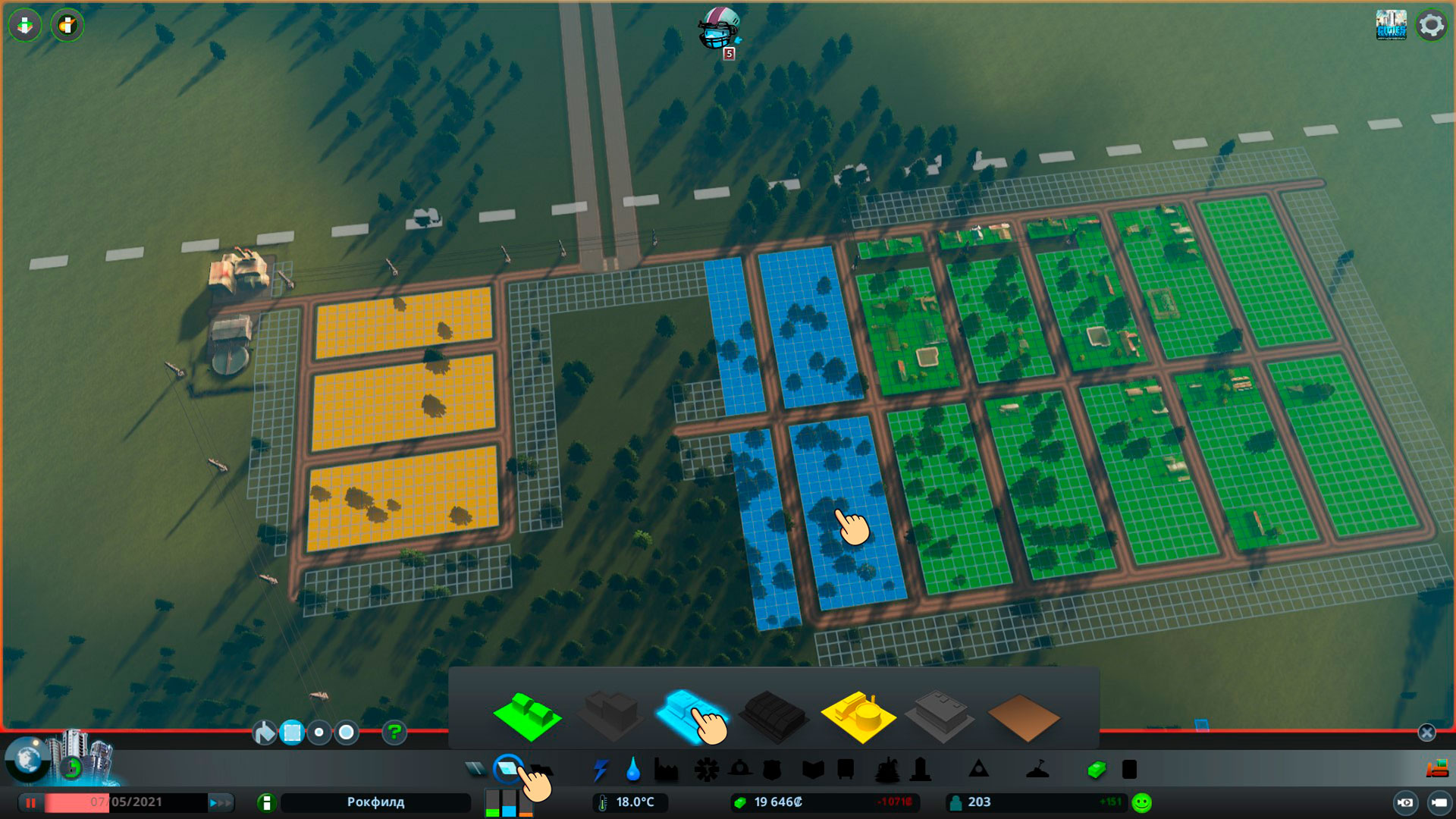 Коммерческие зоны cities skylines
