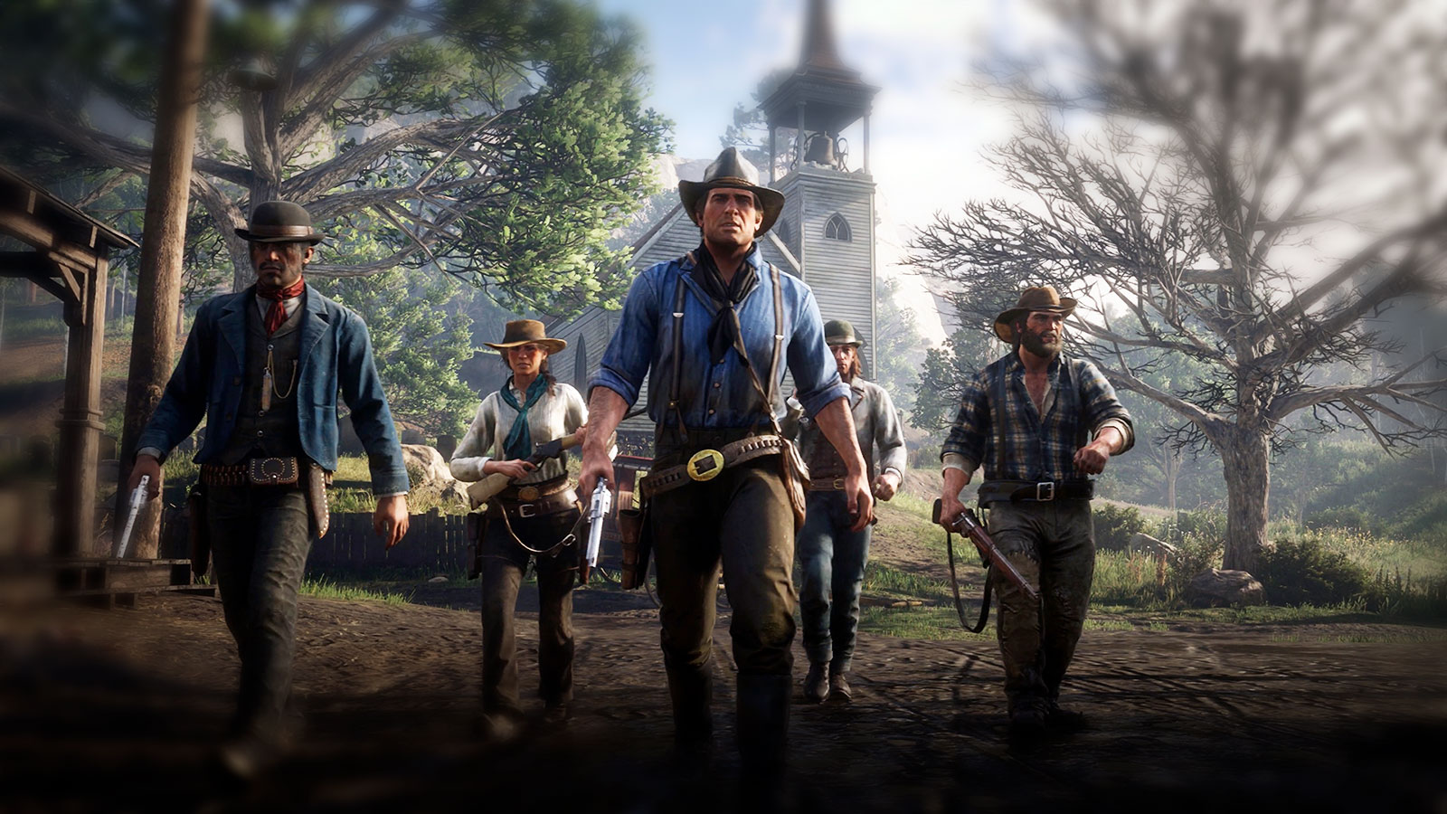 Red Dead Redemption история GTA на диком западе