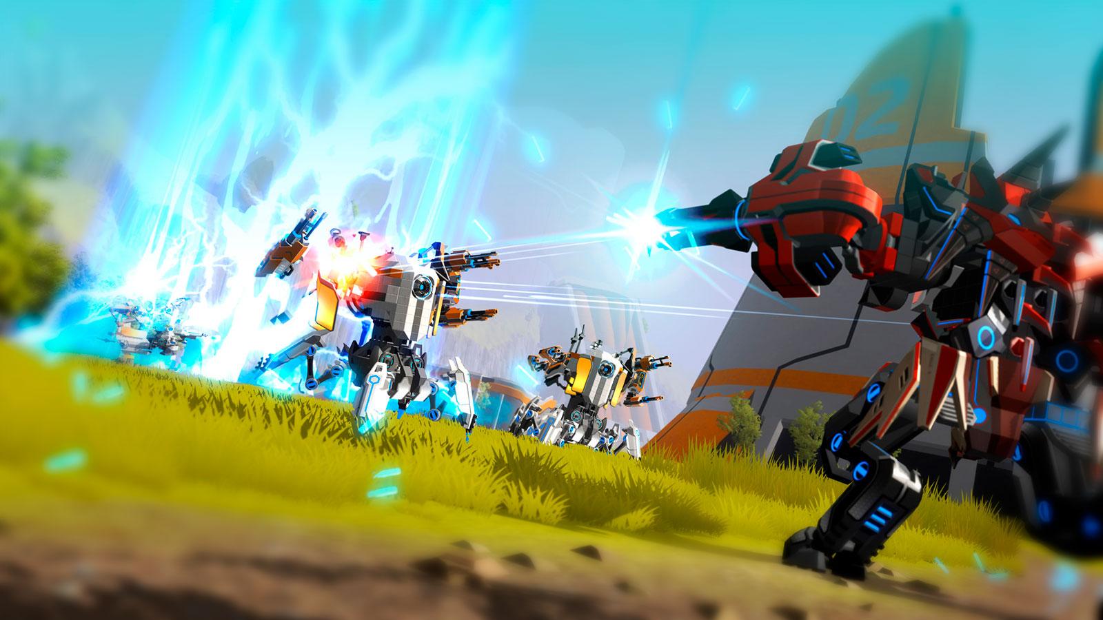 Robocraft соберите своего робота и устройте войну