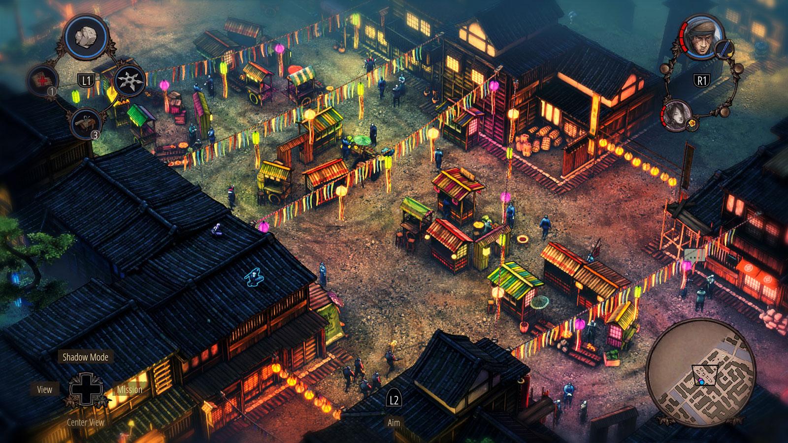 Shadow Tactics топ тактических игр