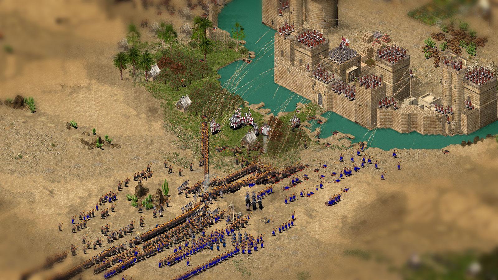 Стронгольд и штурм построенных крепостей