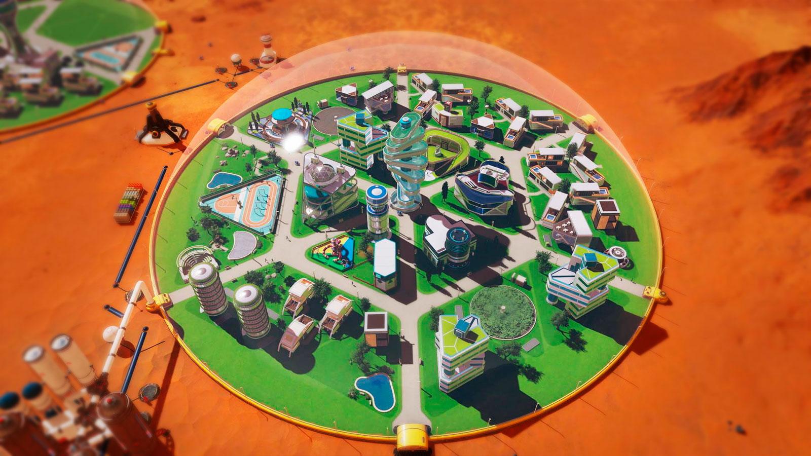 Surviving Mars колонизация марса