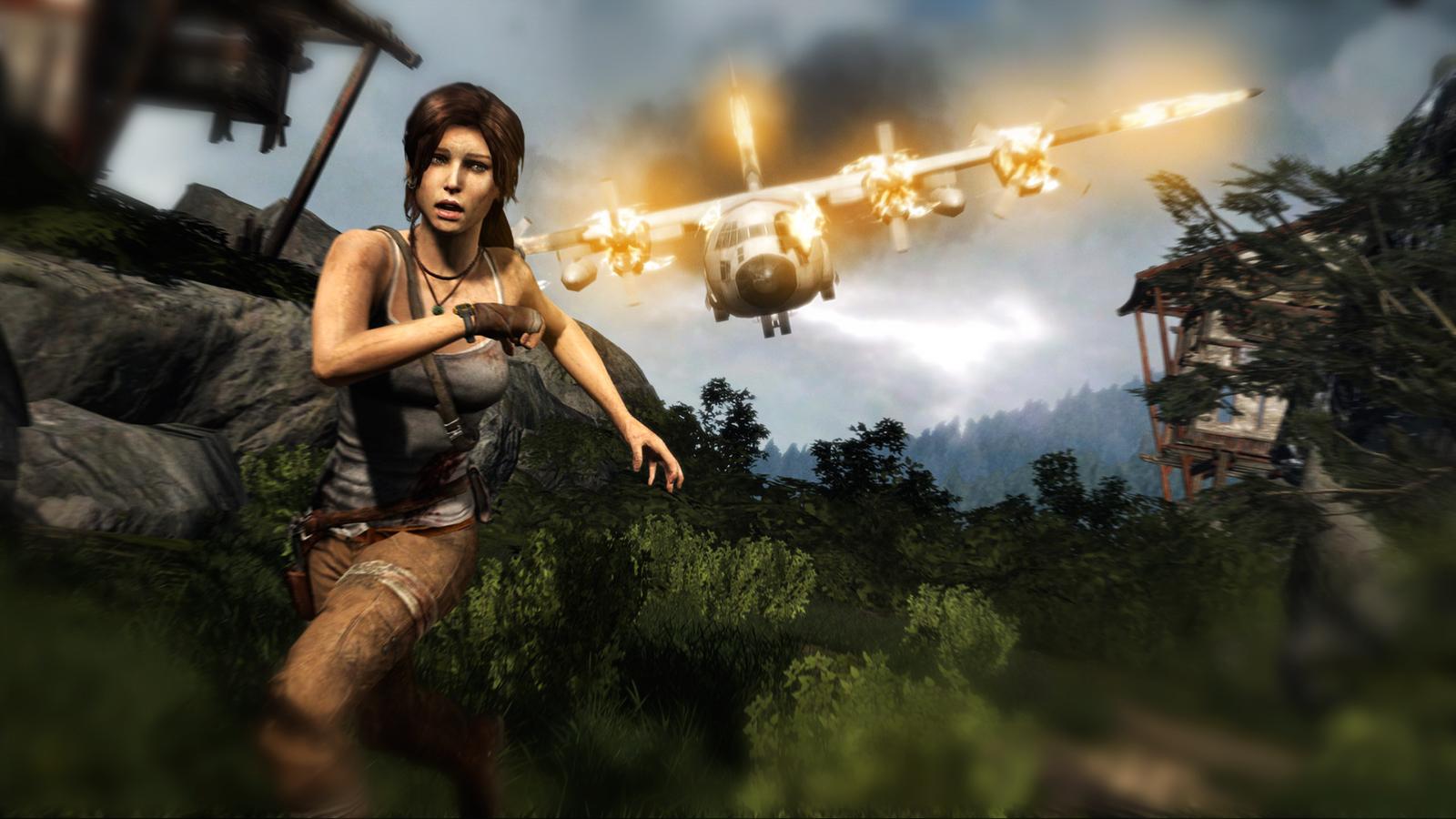 Tomb Raider и паркур
