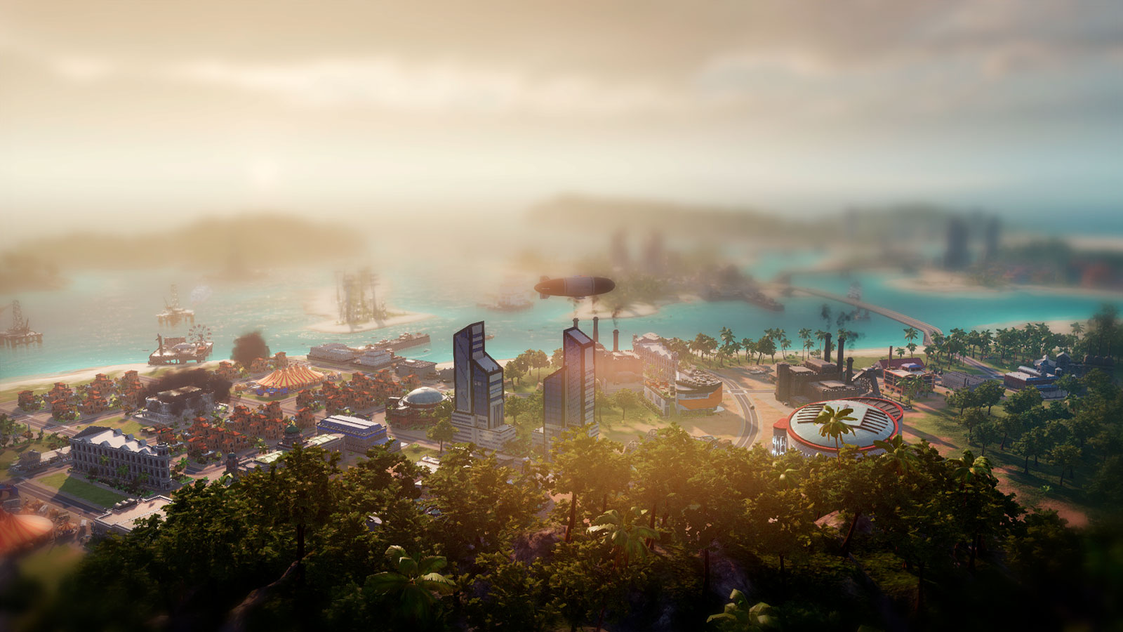 Tropico 6 игра про строительство