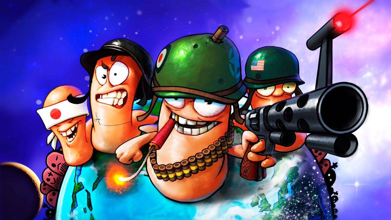 Worms лучшие тактические игры