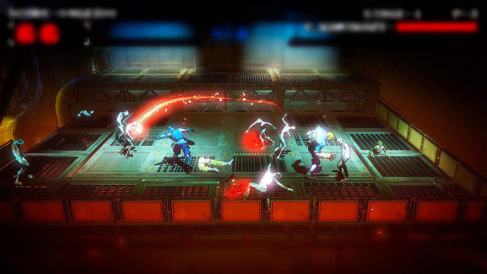 Yaiba Ninja Gaiden Z битемап с ниндзя
