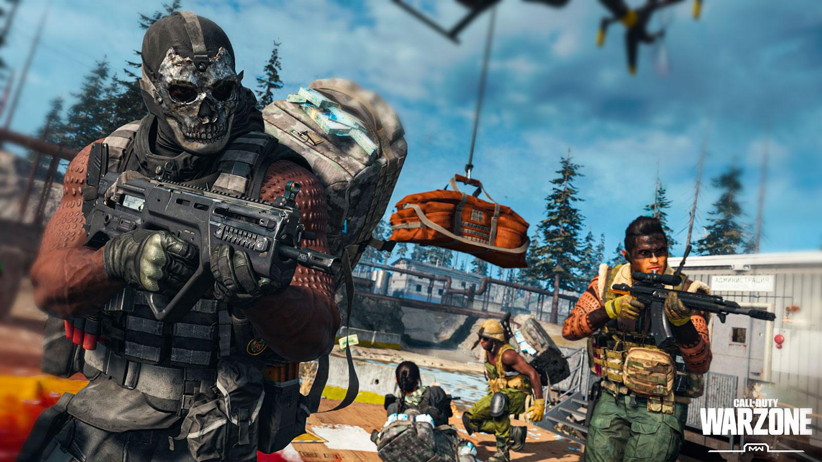 Call of Duty Warzone Топ бесплатных шутеров