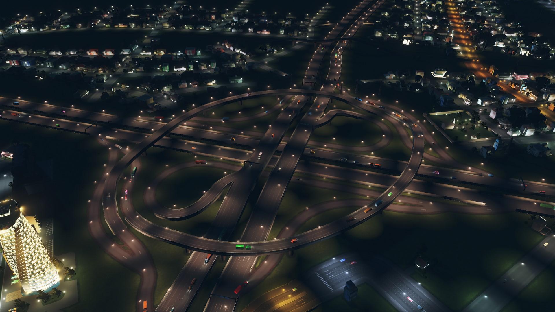Развязки cities skylines