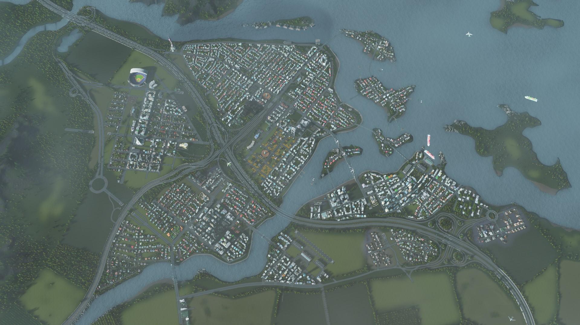 Архитектурные стили cities skylines